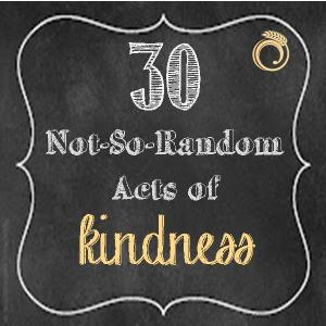 acts of kindness chalkboard