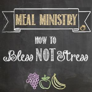Meal Ministry