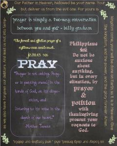 Prayer Printable