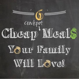 cheap crockpot meals