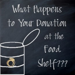 What Happens to your Donation at the Food Shelf