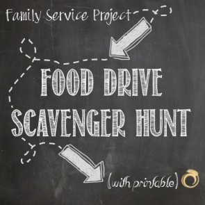 Food Shelf Scavenger Hunt