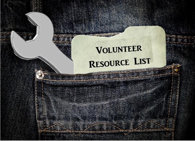 Volunteer Resource List